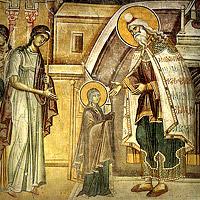Введение во храм Пресвятой Богородицы. Иконы, фрески, мозаики
