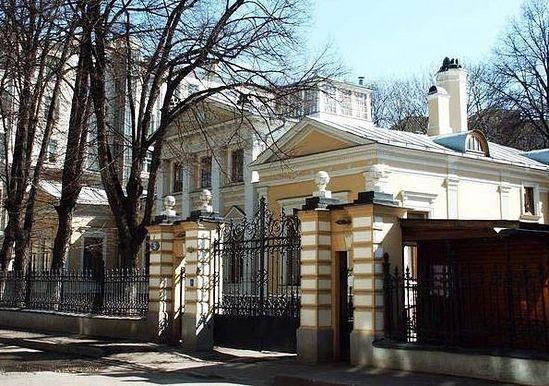 Патриаршая резиденция в Чистом переулке