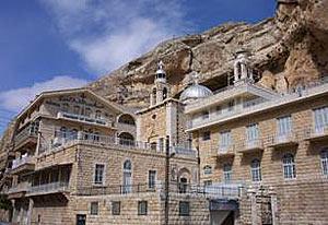 Монастырь святой Феклы, общий вид