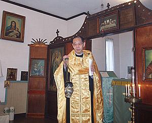 Протоиерей Григорий Огава, настоятель храма в Янаибара