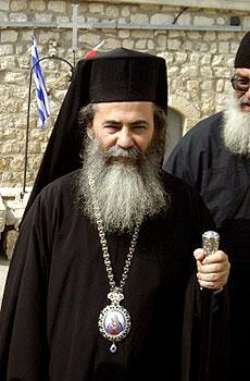 Блаженнейший Патриарх Иерусалимский Феофил III