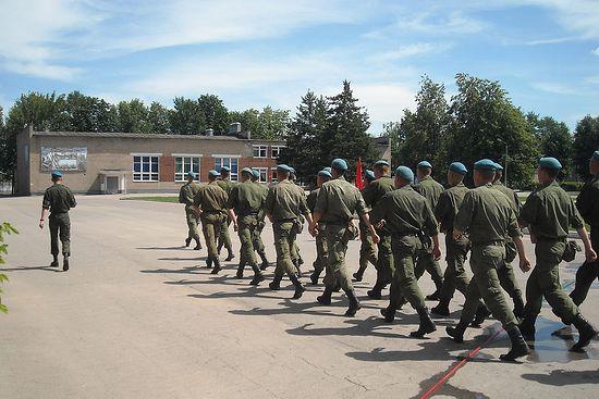 Проводы из части десантника Букарева