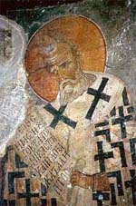 Роспись храма монастыря Панагии Антифонитрии