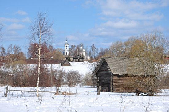 Храм в Жарках. Фото: В.Тимощенко