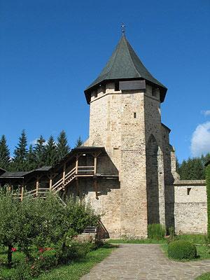 Казначейская башня, выстроенная по приказу Стефана Великого