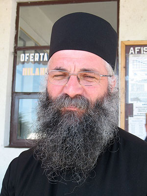 Настоятель монастыря архимандрит Мелхиседек