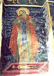 Авва Сисой над могилой Александра Македонского
