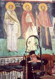 В монастыре Козиа