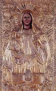 Чудотворная икона святой Феклы из монастыря