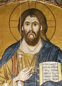 Христос Пантократор. Монастырь святого Луки (Осиос Лукас)