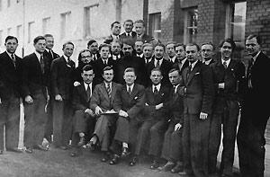 Отец Григорий Перадзе со студентми