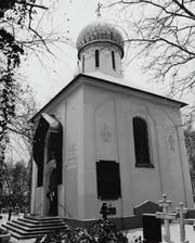 Храм Успения Пресвятой Богоролицы на Ольшанском кладбище