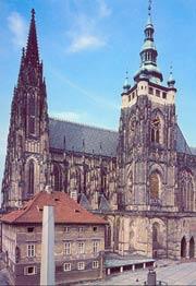 Собор св. Вита в Праге, в котором ноходятся мощи св. Вячеслава
