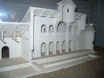Микульчицы. Реконструкция древней базилики