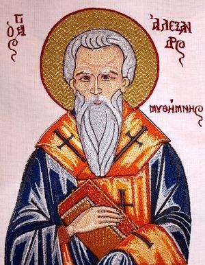 Святитель Александр, епископ Мефимнский