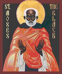 Святой преподобномученик Моисей Мурин (память 28 авг. / 10 сент.)