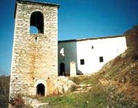 Монастырь до разрушения
