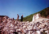 Монастырь после разрушения