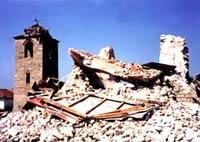 Храм после взрыва