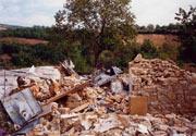 Развалины монастырского храма