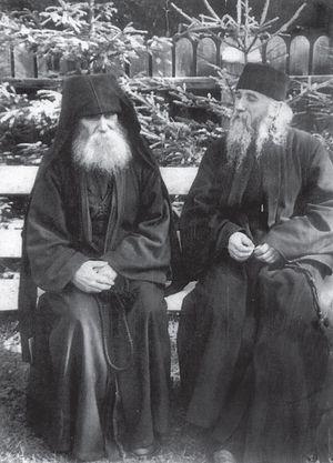 Старцы Паисий (Олару) и Клеопа (Илие)