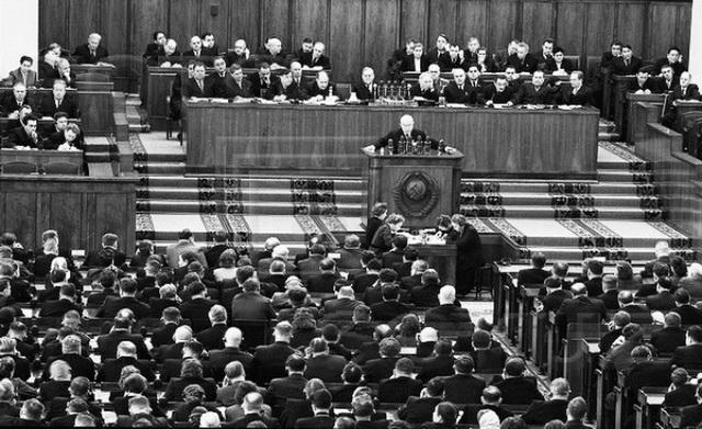 XX съезд КПСС. Доклад Хрущева