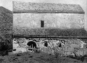 Южный фасад церкви св. Георгия Победоносца до реставрации