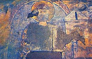Ктиторский портерт епископа Герасиме Чхетидзе