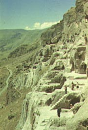 Вид на монастырский комплекс Вардзия