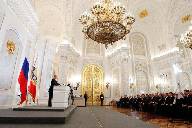 Послание Президента Федеральному Собранию. Фото: Пресс-служба Президента России