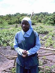 Первая православная монахиня в истории Уганды. Сестре Анастасии всего 23 года