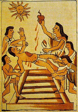 Жертвоприношение американских индейцев