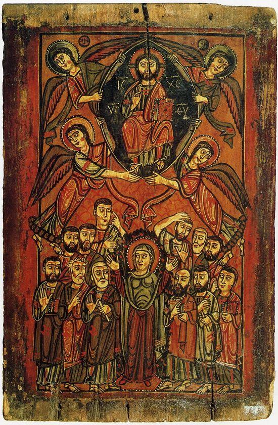 Вознесение Господне. VIII-IX век. Монастырь Св. Екатерины на Синае