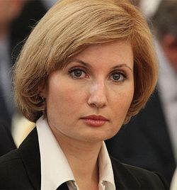 О.Ю. Баталина, первый заместитель председателя Госдумы по вопросам семьи, женщин и детей.
