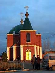 Храм Святителя Иннокентия Иркутского в Трёхречье (Лабдарин)