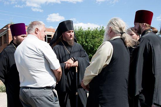 В Балаковском благочинии. Июль, 2012 г. Фото: А.Яновский