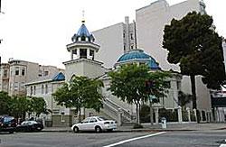 Свято-Троицкий Кафедральный Собор в Сан-Франциско. Построен в 1857 году