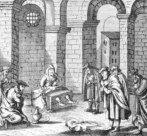 Саббатей Цви в заключении