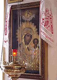 Ситкинская икона Божией Матери