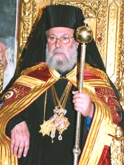 Архиепископ Новой Юстинияны и всего Кипра Хризостом II