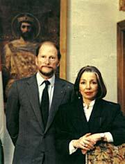 Царь Симеон с супругой