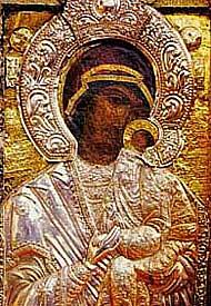 Образ Пресвятой Богородицы из Бачковского монастыря