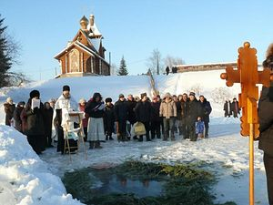 Крещенские купания в православном реабилитационном центре «Подвижник»