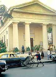 Церковь Преображения Господня. Калькутта