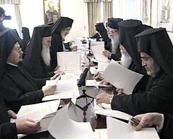 Заседание Синода Константинопольского Патриархата. Фото: rnn.gr