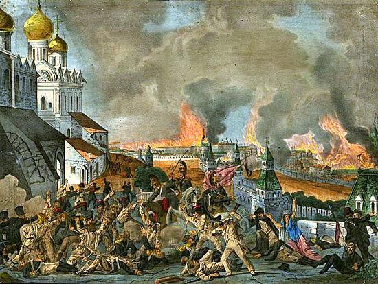 Зверства французов в Москве