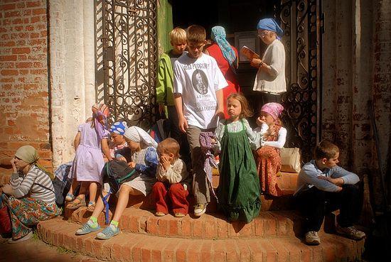 Детки Борисоглебского района. Фото: С. Воронин