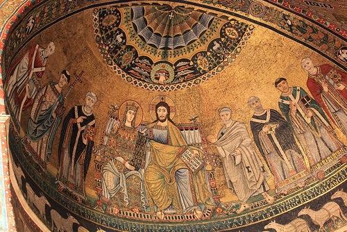 Церковь Санта Мария ин Трастевере в Риме (Basilica Santa Maria in Trastevere)