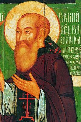 Изображение Василия Третьего на погребальной иконе