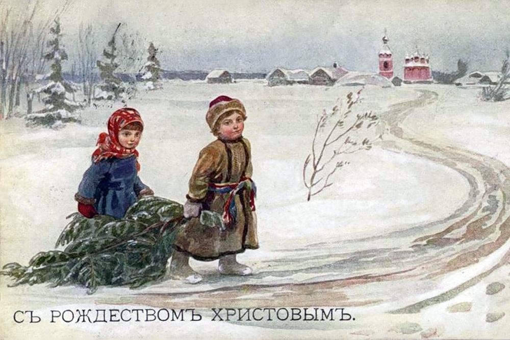 The Beggar Boy at Christ's Christmas Tree - The Beggar Boy At Christ's Christmas Tree / OrthoChristian.Com